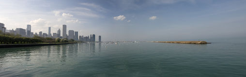 Panorama of Chicago Stock Photography