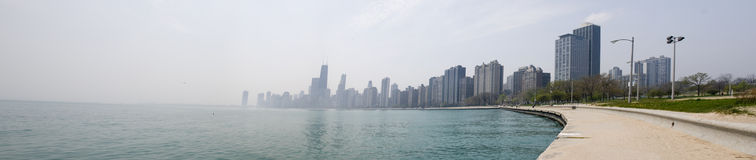 Panorama of Chicago Royalty Free Stock Photography