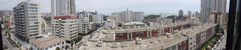 Panorama- chilenare Arkivfoton