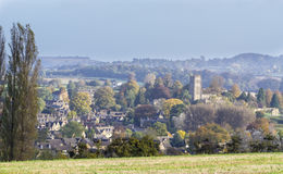 Panorama of Chipping Campden, Gloucester, England Royalty Free Stock Image