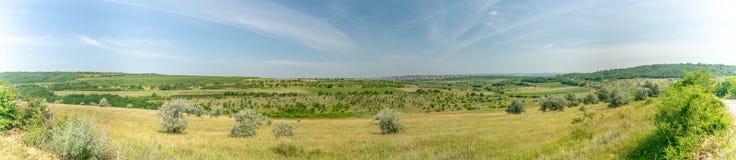 Panorama Chisinau Moldova Buiucani Fotografia de Stock Royalty Free