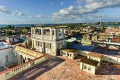 Panorama - Cienfuegos, Kuba zdjęcie stock