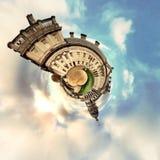 Panorama circulaire du ` s de Londres la plupart des attractions célèbres photo stock