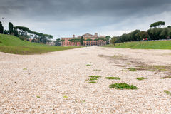Panorama Circus Maximus in Rome Stock Images