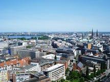 Panorama of the city Stock Photos