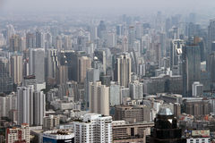 Panorama of the city Stock Image
