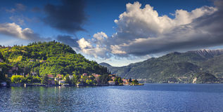 Panorama of the city Bellagio Royalty Free Stock Images