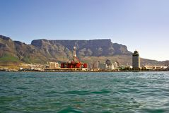 Panorama of city of cape town from the bay