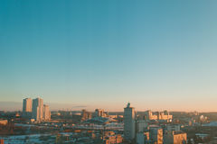 Panorama of city Royalty Free Stock Images