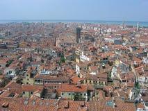 Panorama of the city stock photo