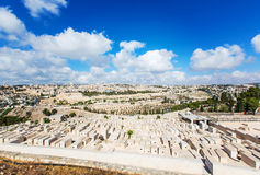 Panorama city of Jerusalem Stock Photography