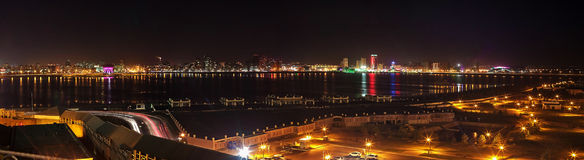 Panorama. Of the city of Kazan Royalty Free Stock Images