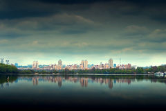 Panorama of  city of Kiev Stock Image