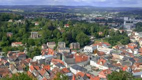 Panorama of the city of Kulmbach