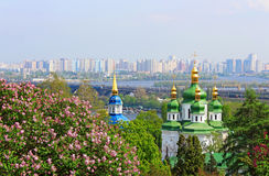 Panorama of the city of Kyiv, Ukraine Stock Photography
