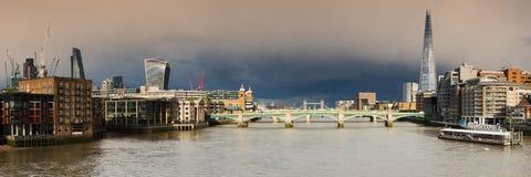 Panorama city of London Stock Photography