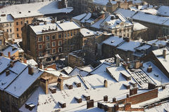 Panorama of the city of Lviv. Royalty Free Stock Photo