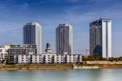 Panorama city Royalty Free Stock Photo