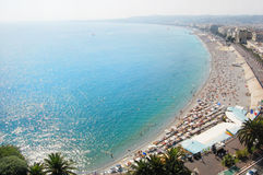Panorama of the city of Nice Royalty Free Stock Images