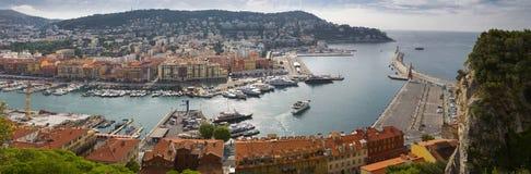 Panorama of the city of Nice Stock Photo