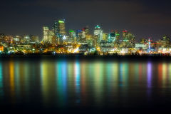 Panorama of the city Stock Photography