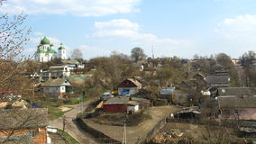 Panorama of the city of Novgorod-Seversky Royalty Free Stock Photos