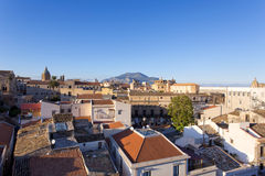 Panorama of the city of Palermo Royalty Free Stock Photo
