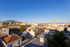 Panorama of the city of Palermo Stock Image