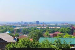 Panorama of the city Royalty Free Stock Photo