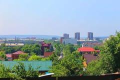 Panorama of the city Royalty Free Stock Photos