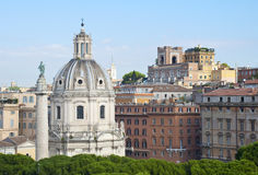 Panorama of the city of Rome, Italy Stock Photos
