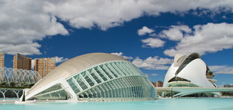 Panorama of City of Sciences Stock Photos