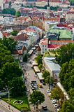 Panorama of city of Tallinn Stock Images