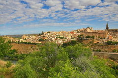 Panorama of the city of Toledo, Spain Stock Photo