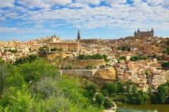 Panorama of the city of Toledo, Spain Stock Photos