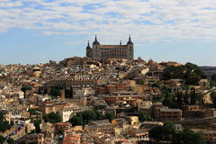 Panorama of the city of Toledo, Spain Stock Image