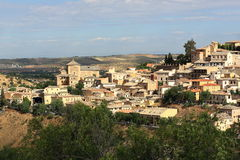 Panorama of the city of Toledo, Spain Royalty Free Stock Images