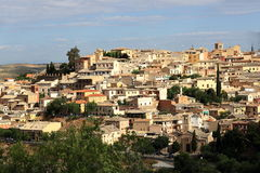 Panorama of the city of Toledo, Spain Stock Images