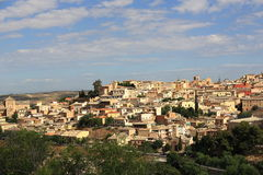 Panorama of the city of Toledo, Spain Royalty Free Stock Photos