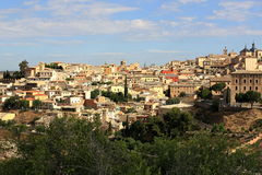 Panorama of the city of Toledo, Spain Royalty Free Stock Image
