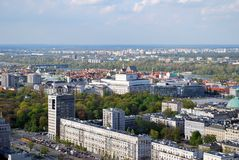 Panorama of the city. Urban fabric - in theory and urban sociology term used to describe the structure of a regular building characteristic of urban spaces. The Stock Photo