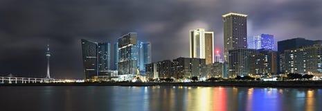 panorama- cityscape arkivfoto