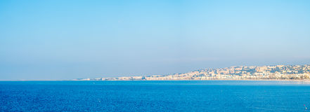 Panorama cityscape view of Nice, France Stock Photography