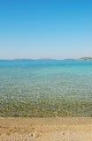 Panorama clair de mer Image stock