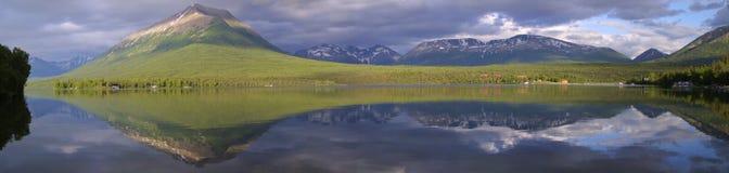 panorama clark jeziora. Zdjęcia Royalty Free