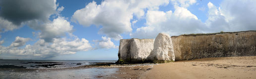 Panorama of the cliffs Royalty Free Stock Photo