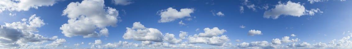 Panorama Clouds Blue Sky Stock Photography