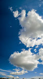 Panorama of clouds Royalty Free Stock Image