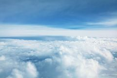 Panorama Cloudscape Immagine Stock