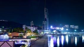 Panorama of the coast of Pattaya Royalty Free Stock Image
